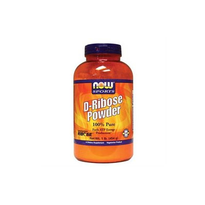 Now Nutrition NOW Foods - D-Ribose 100 Pure Powder - 1 lb.