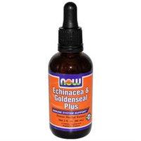 NOW Foods - Echinacea & Goldenseal Plus Potent Herbal Extract - 2 oz.