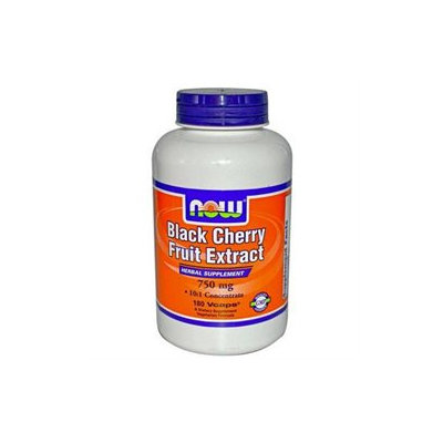NOW Foods - Black Cherry Fruit Extract 750 mg. - 180 Vegetarian Capsules