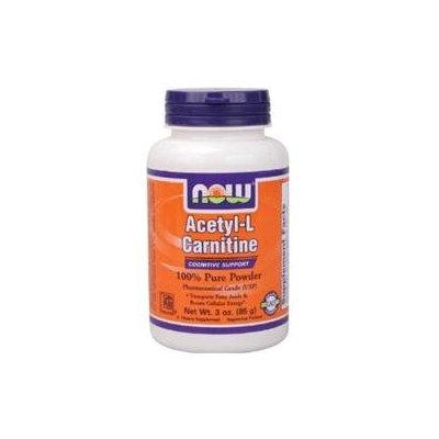 NOW Foods - Acetyl L-Carnitine Pure Powder - 3 oz.