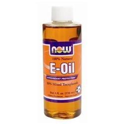 NOW Foods - Vitamin E-Oil 80 Mixed Tocopherols - 4 oz.