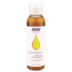 NOW Foods - Liquid Lanolin 100 Pure - 4 oz.