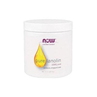 NOW Foods Solutions Pure Lanolin - 7 fl oz