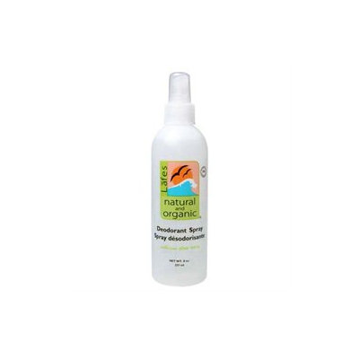Lafes Natural Body Care Lafe's Natural Body Care Deodorant Spray, 8 oz