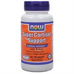 NOW Foods Super Cortisol Support with Relora, Capsules, 90 ea