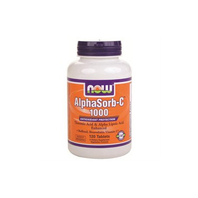 NOW Foods - AlphaSorb C 1000 Antioxidant Protection - 120 Tablets
