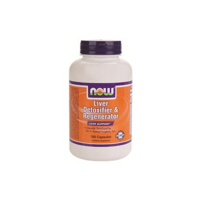 NOW Foods - Liver Detoxifier & Regenerator - 180 Capsules