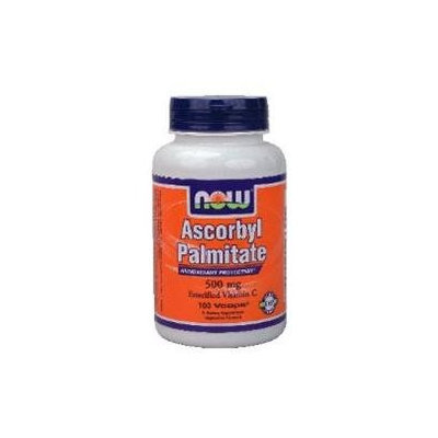 NOW Foods - Ascorbyl Palmitate 500 mg. - 100 Vegetarian Capsules