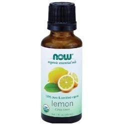 NOW Foods - Lemon Oil Organic - 1 oz.