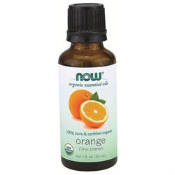 NOW Foods - Orange Oil Organic - 1 oz.