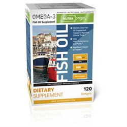Nutra Origin Fish Oil High Potency - 120 Softgels