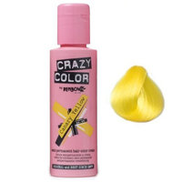 Crazy Color Semi Permanent Hair Color Cream Canary Yellow No.49 100ml