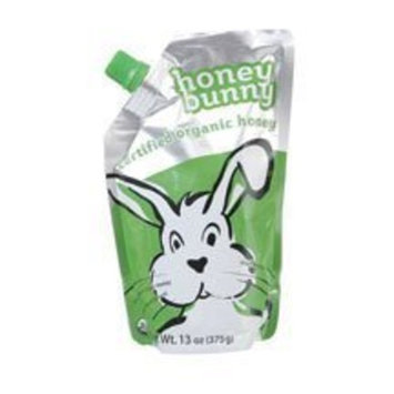 Honey Bunny 100% Organic Licquid Clover Honey 13 oz. (Pack of 6)