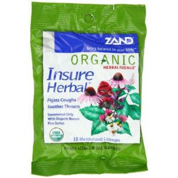 Zand Insure Herbalozenge Organic, Herb, 12 Count