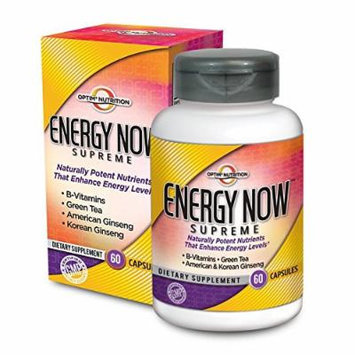 Optim Nutrition Energy Now Supreme (60 caps)
