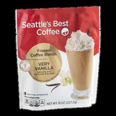 Seattle's Best Frozen Coffee Blends Very Vanilla