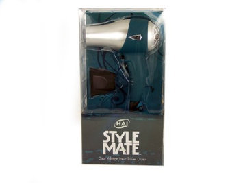 Hai Stylemate Mini Travel Hair Dryer - Teal Color