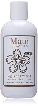 Maui Organics Intense Moisture and After Sun Lotion