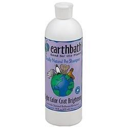 Earthbath Shampoo Light Color Coat Brightener 16 oz