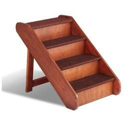 Solvit PupSTEP Wood Stairs Pet Steps X-Large
