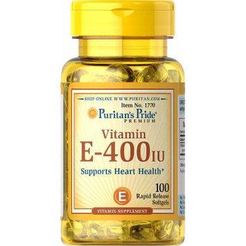 Puritan's Pride Vitamin E-400 IU-100 Softgels