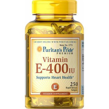 Puritan's Pride Vitamin E-400 IU-250 Softgels