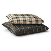 K & H Manufacturing Indoor / Outdoor Single-Seam Large Brown Plaid