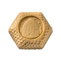 Apiana Double Bar Swiss Honey Soap in Gift Box