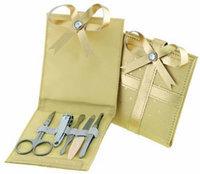 Danielle Gold Bow Manicure Set