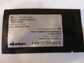 Davines OI Multi Benefit Beauty Treatment All In One Milk Sachet Kit for Unisex