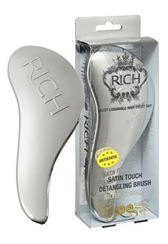 RICH Satin Touch Detangling Brush  - Silver Sparkle
