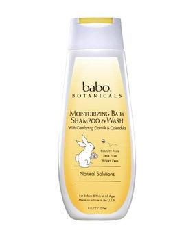 Babo Botanicals Oatmilk Calendula Moisturizing Baby Shampoo and Wash