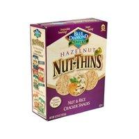 Blue Diamond Nut-Thins Cracker Snacks, Hazelnut, 4.25-Ounce Boxes (Pack of 12)
