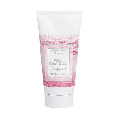 Camille Beckman Glycerine Hand Therapy, 6 Oz. Tube,Silver Butterfly