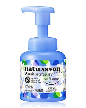 KOSE Softy Mo Natu Savon Foam Wash Clear