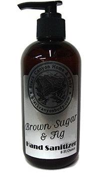 Scented Hand Sanitizer 8 Oz (Brown Sugar Fig)