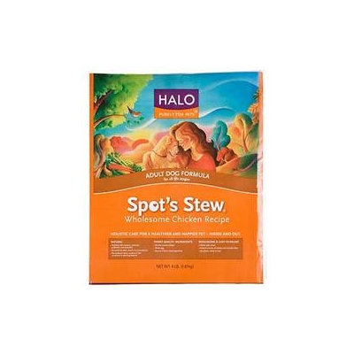 Phillips Feed & Pet Supply Halo Spots Stew Adult Chicken Dry Dog Food 15lb