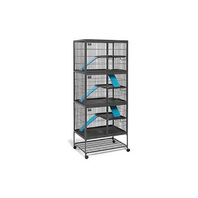 Midwest Pets Midwest Homes For Pets Ferret Nation Add-On Unit Cage in Gray