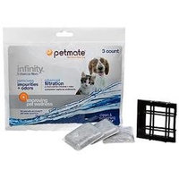 Petmate Infinity Water Fountain Replacement Filters 3 Count