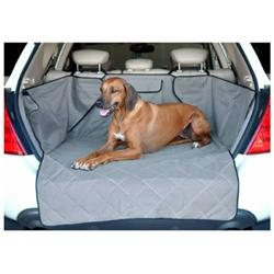 Petstoresusa KH Mfg Quilted Pet Cargo Cover Gray