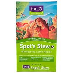 Phillips Feed & Pet Supply Halo Spot's Stew Dry Dog Food Lamb 28 lbs
