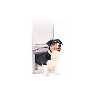 PetSafe 81 Deluxe White Patio Panel Pet Door, Small