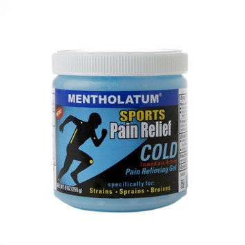 Mentholatum Sports Pain Relief Cold Pain Relieving Gel, 9 oz