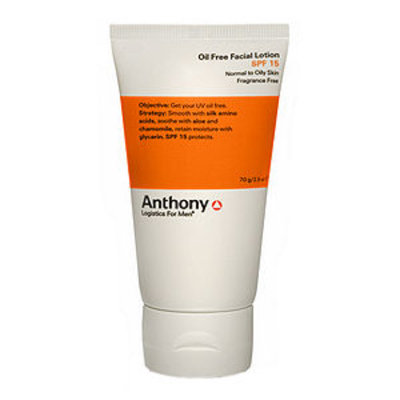 Anthony Logistics for Men Oil Free Facial Lotion SPF 15