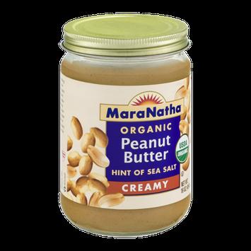 Mara Natha Organic Peanut Butter Creamy Hint of Sea Salt