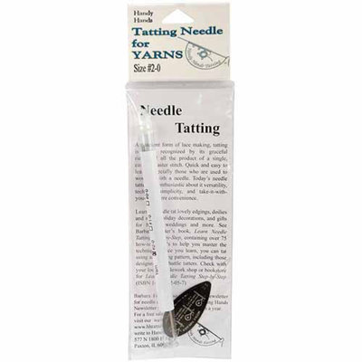 Handy Hands Tatting Needle for Yarn, #2-0