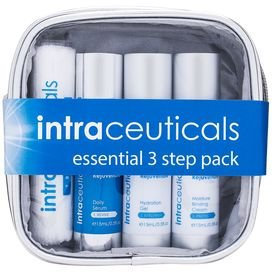 Intraceuticals Rejuvenate Essential 3 Step Pack with Daily Serum Plus Gel and Cream
