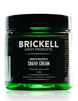 Brickell Men's Products Smooth Brushless Shave Cream