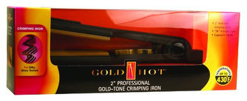 Gold N' Hot GH3013 Gold Tone Crimping Iron