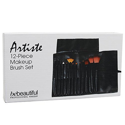 For Pro 12 Piece Bebeautiful Artiste Makeup Brush Set